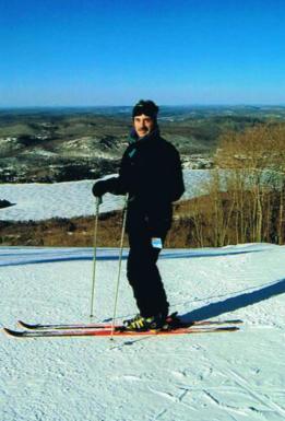 John Persichini Skiing